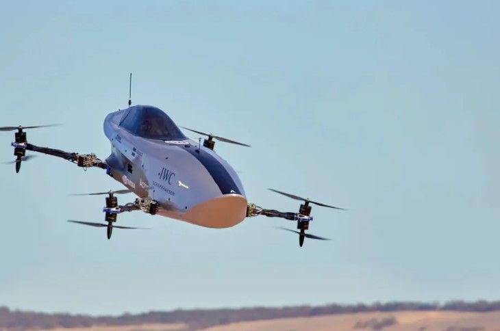 The Alauda Mk3's Test Flight Was A Success, Says Airspeeder