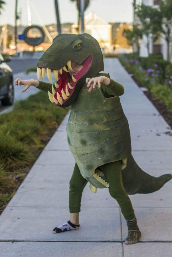 Homemade T Rex Costume Neatorama