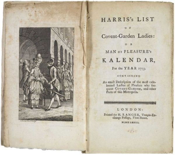 The 18th Century Guide to London's Prostitutes