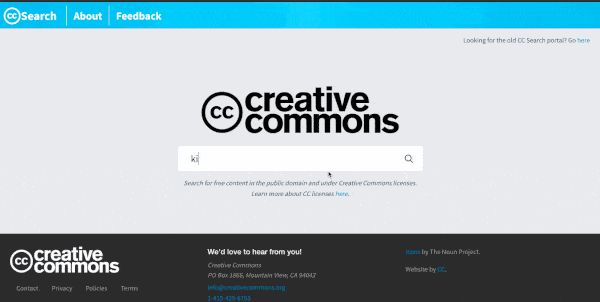 CC Search Now Makes Images More Accessible