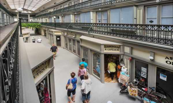 America S Oldest Shopping Mall Is Now An Apartment Building Neatorama,Patio Small Back Porch Ideas