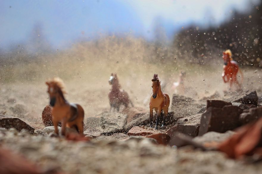 Mom Uses Camera To Recreate How Her Kids View Their Toys