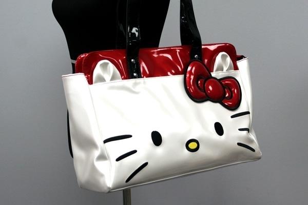 Hello Kitty White Face Shoulder Bag 2a6de4c5ee5d2