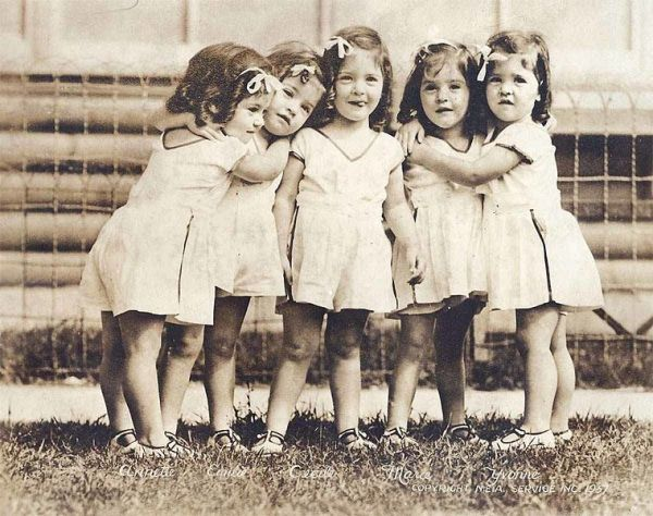 The Sad Tale of The Dionne Quintuplets