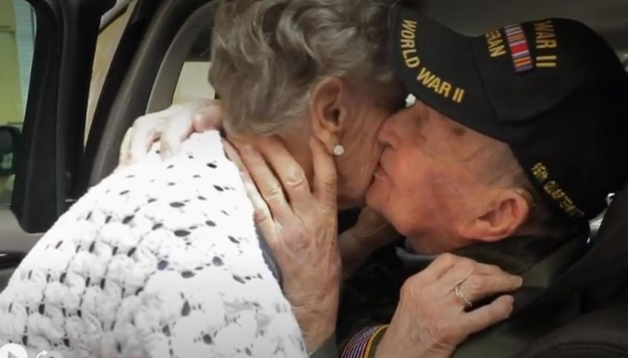 American Veteran and French Girlfriend Reunited 75 Years Later at D-Day Commemorations