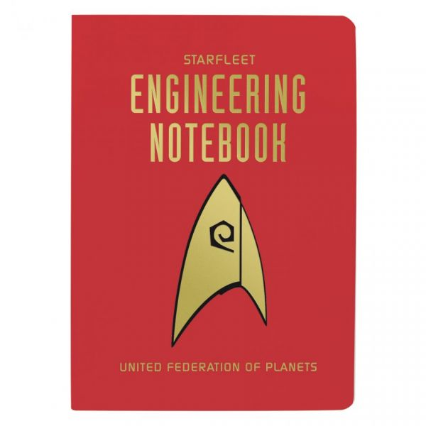 Starfleet Engineering Notebook Pocket Notebook