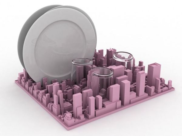 Is The Most Famouost Beautiful Cityscapes In World But Who Knew It Was Also Great For Organizing Your Desk Items And Drying Dishes