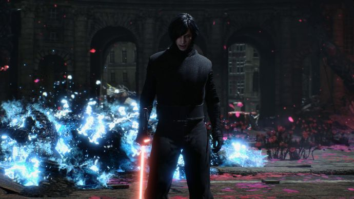 Somebody Made a Kylo Ren Mod for Capcoms Devil May Cry 5