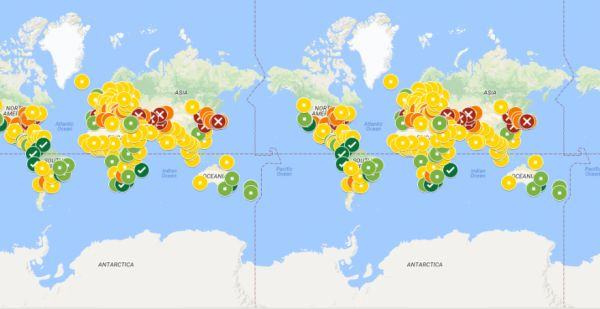 Cities of the World Where You Dont Need AC or Heat, Mapped