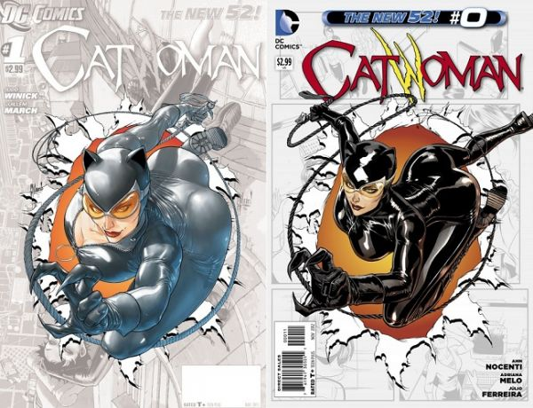 catwoman covers