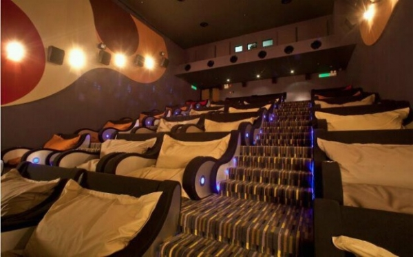 Is This The World S Most Comfortable Movie Theater Neatorama