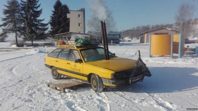 This Old Car is A Sauna