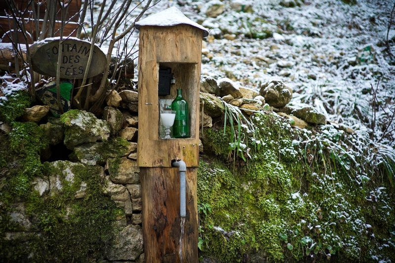 There Are Hidden Bottles of Absinthe in the Swiss Woods