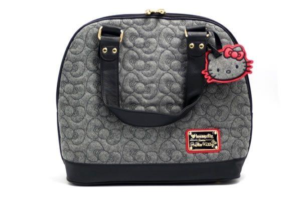 Hello Kitty Quilted Bow Handbag cd0c09fc2192b