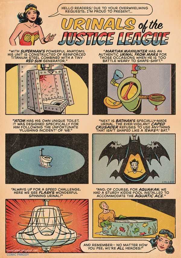 Urinals Of The Justice League - Neatorama-6469