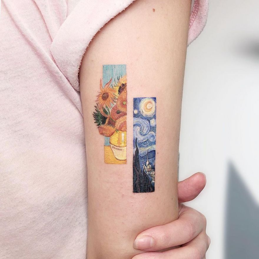 Kozo's Photorealistic Pop Culture Tattoos