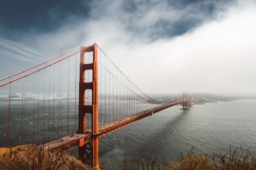 A Golden Gate Bridge-Lightning Timelapse Photo Five Years in the Making