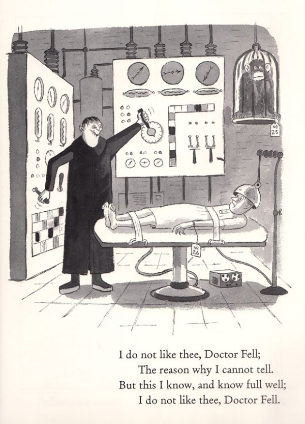 Charles Addams Illustrates Mother Goose Neatorama