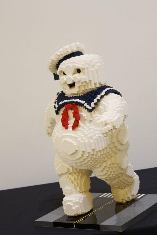 Stay Puft Marshmallow Man In Lego Neatorama
