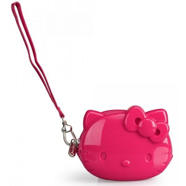 Hello Kitty Pink Coin Bag with Strap e402102e87047