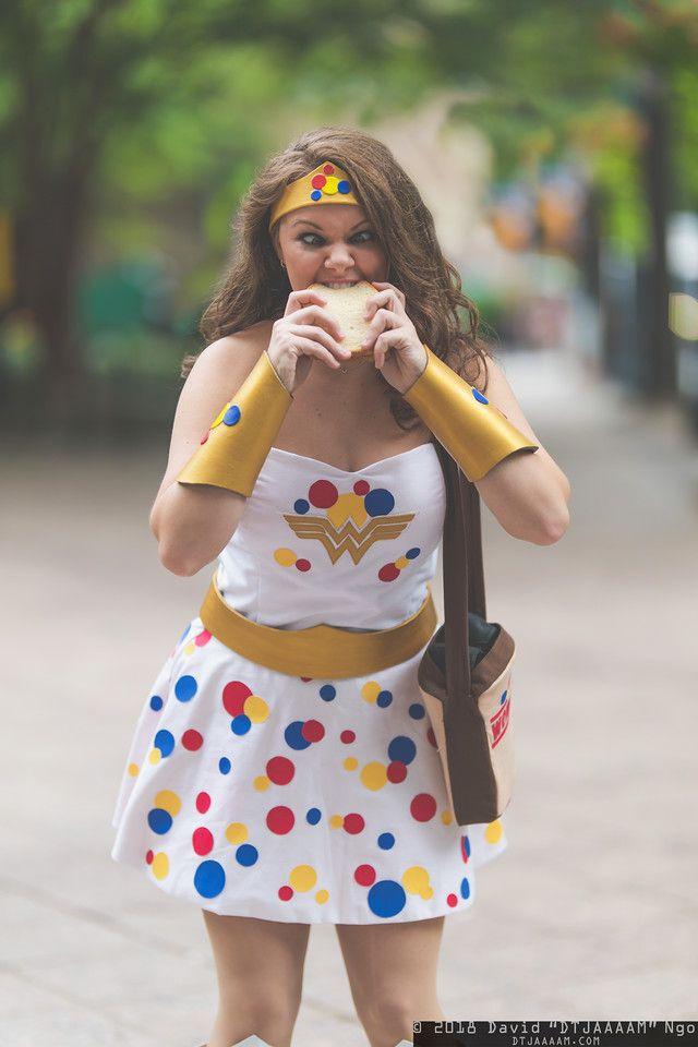 Wonder (Bread) Woman Cosplay - Neatorama