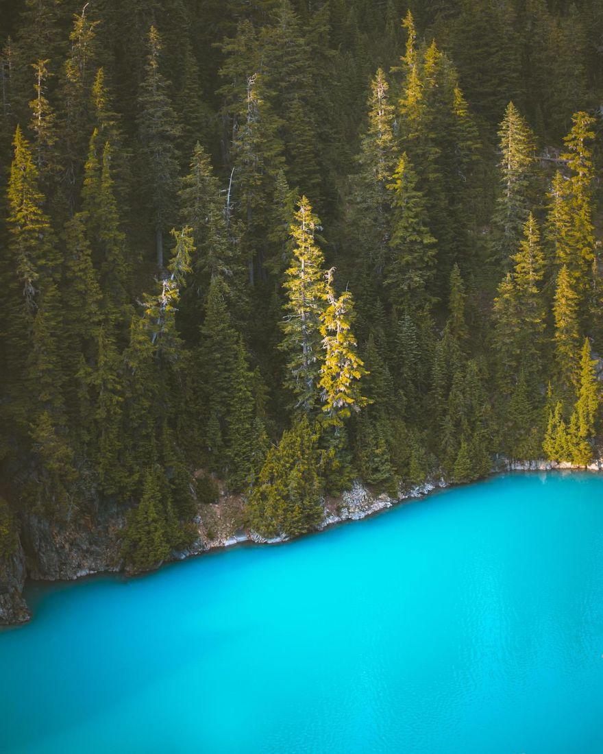 A Heaven-Like View At Diablo Lake