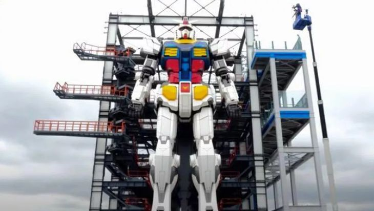 This 55K-Pound Gundam In Japan Can Move