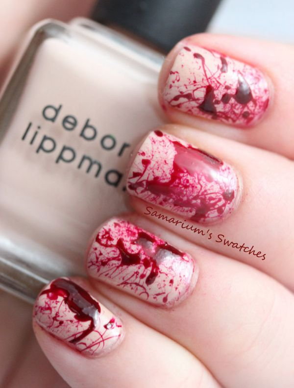 Perfect Nails For Any Dexter Fan