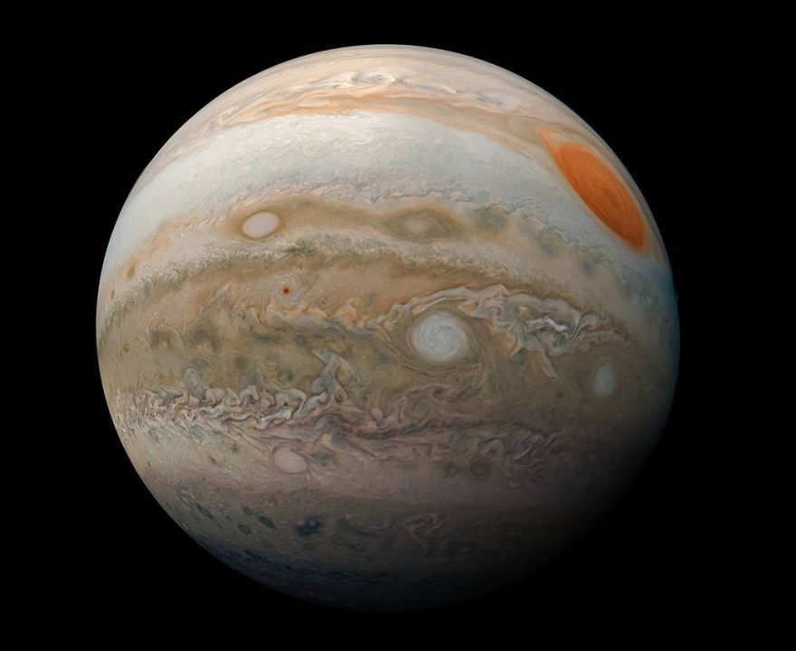 A Picturesque Image of Jupiter