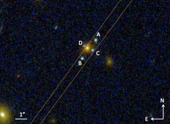 New Einstein's Cross Confirms Gravitational Lensing