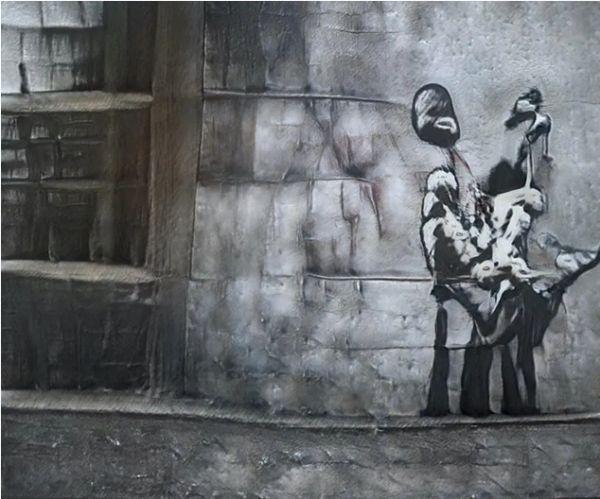 Artificial Intelligence Tries Street Art