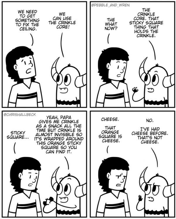 Pebble and Wren