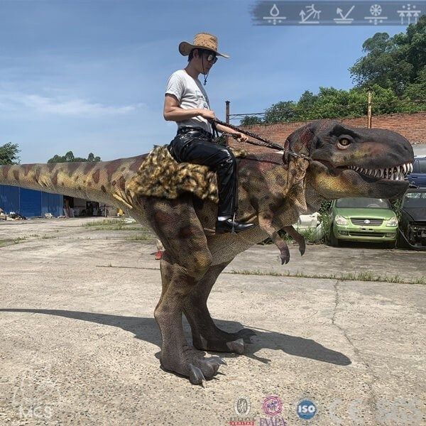 Ride On T-rex Costume