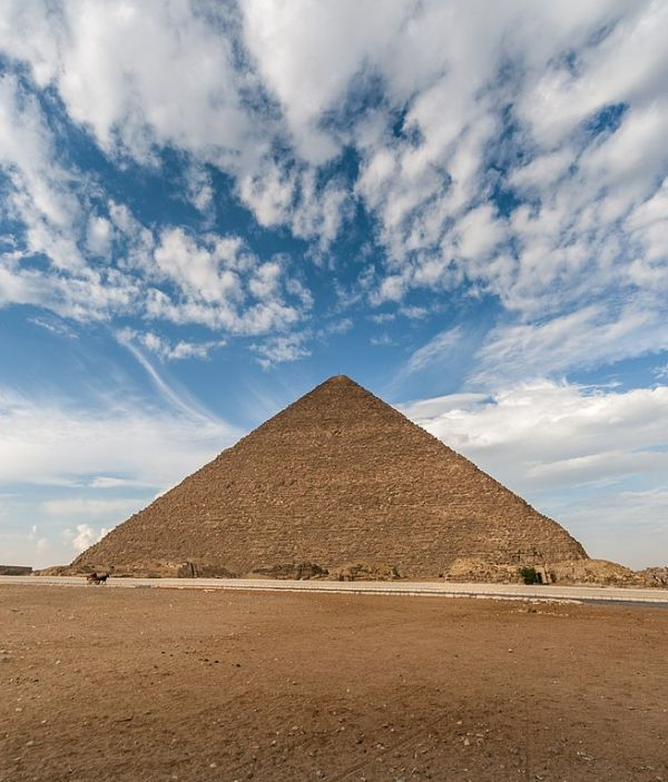 The Surprisingly Plausible Theory that the Pyramids were Poured from Ancient Concrete