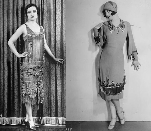 9c71539fd13 Flappers Didn t Really Wear Fringed Dresses