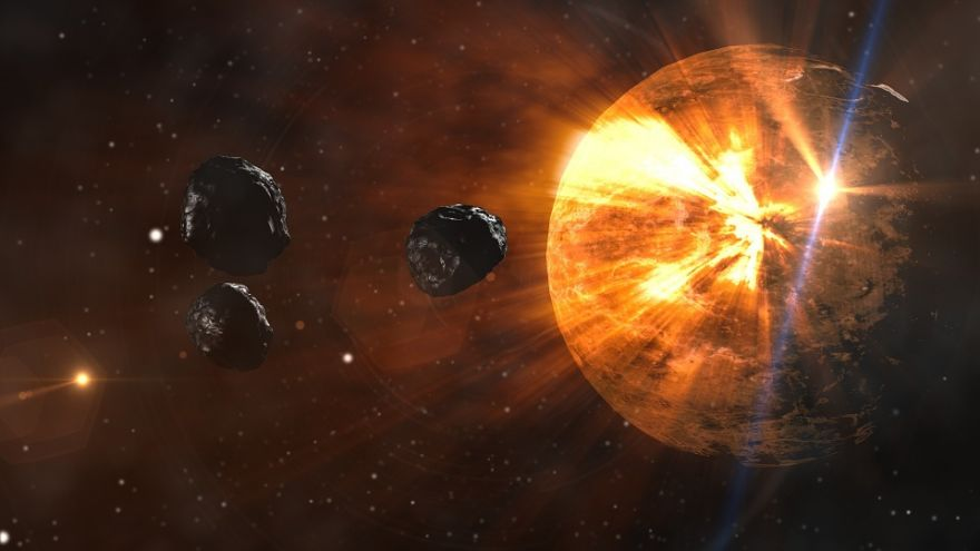 Rebirth of Life on Earth After Asteroid Impact