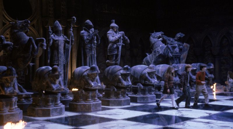 A LEGO Harry Potter Wizard Chess Set Is Rumored To Be Released