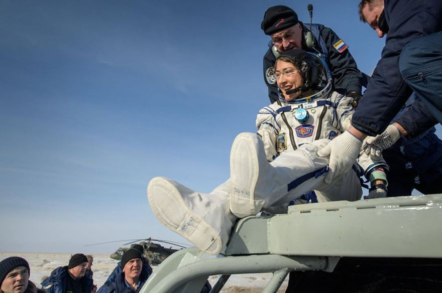 Astronaut's Dog Gives Her A Very Warm Welcome Upon Her Return From Space
