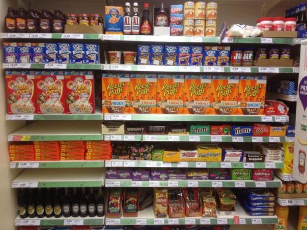 Europe Grocery Store Food Waste