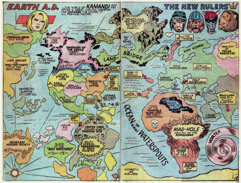 The Worlds That Comic Books Built
