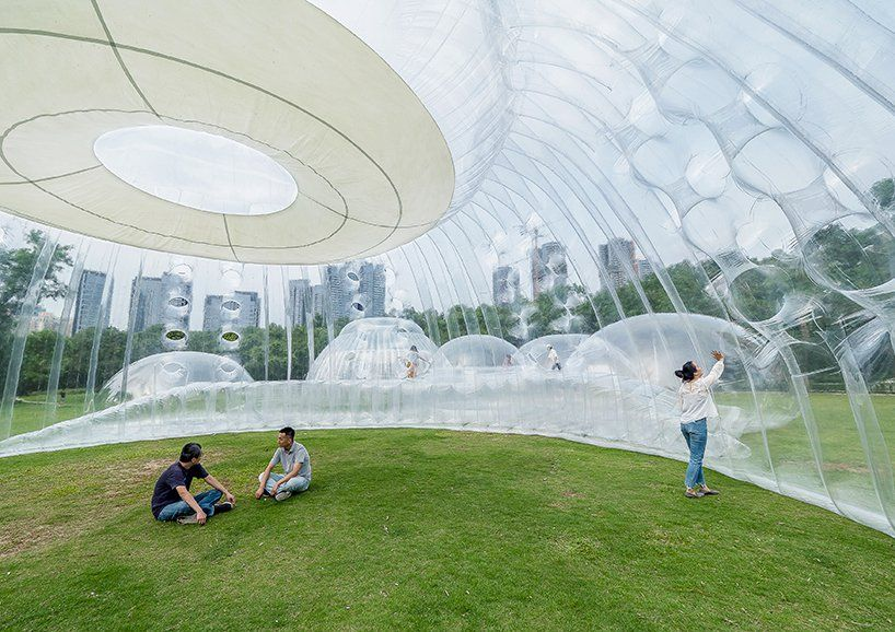 Air Mountain: A Pavilion Full of Air, Literally