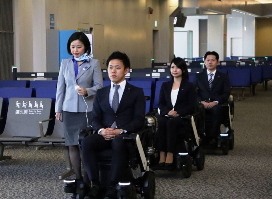 ANA Tests Self-Driving Electric Wheelchairs for PWDs