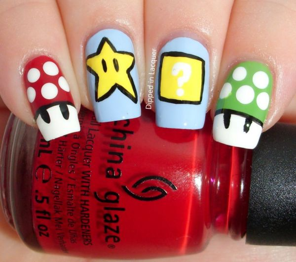 The Comic Con Nail Art Challenge - Neatorama
