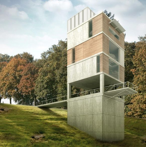10 Most Interesting Vertical Homes Neatorama