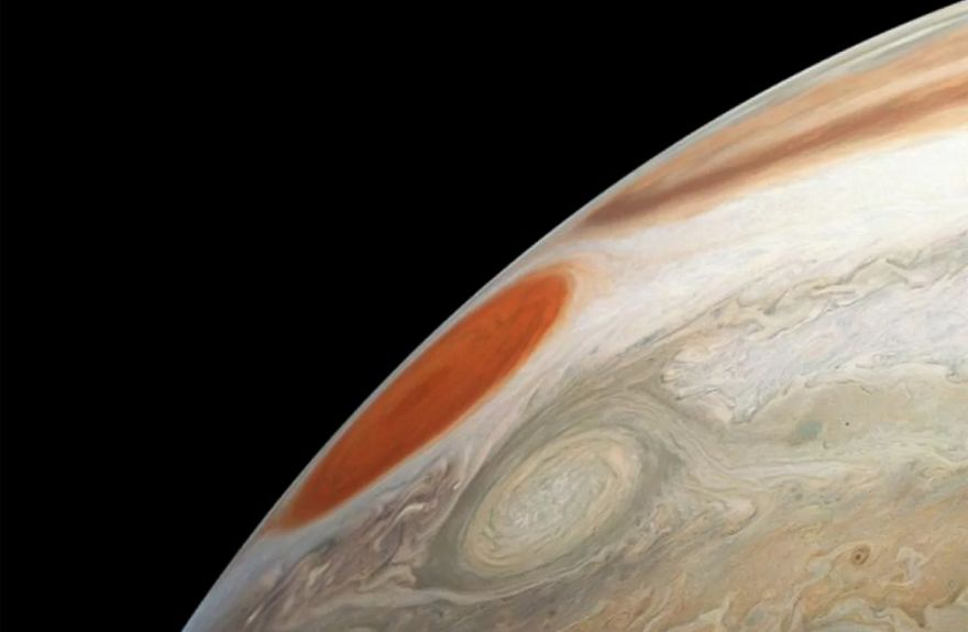 Two Storms on Jupiter