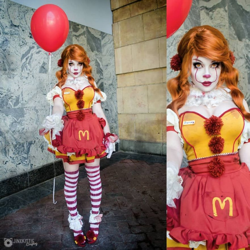Ronald McPennywise Cosplay