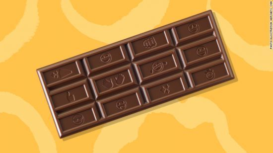 After 125 Years, Hershey's Redesigned Its Chocolate Bars For The Texting Generation