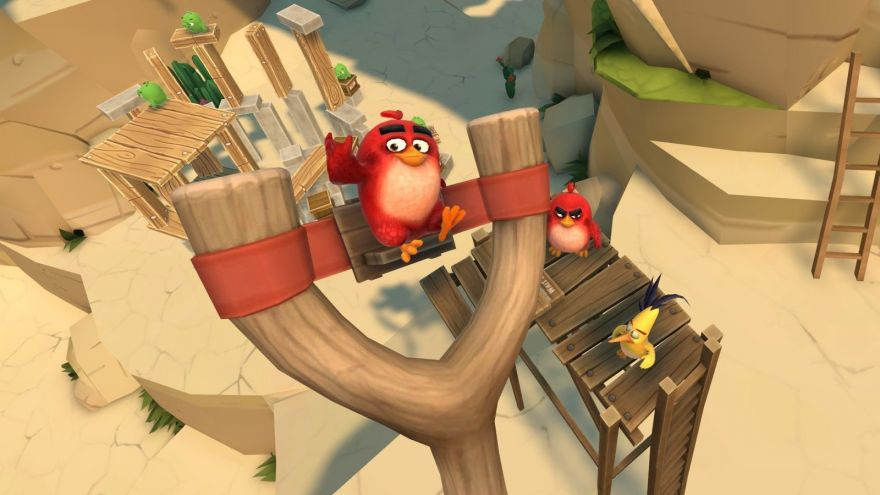 Its Like Mario Maker, But With Pigs: Angry Birds VR Lets You Create Your Own Level