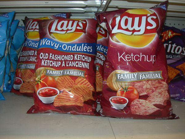 Ketchup Chips Neatorama