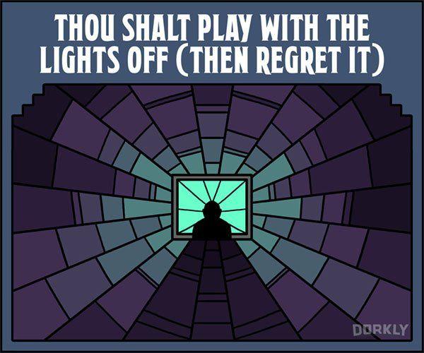 The Ten Commandments Of Survival Horror Video Games